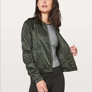 Lululemon Above The Clouds Jacket Evergreen